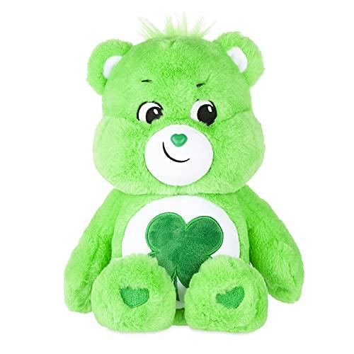 Care Bears Good Luck Bear Stuffed Animal, 14 inches