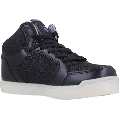 Skechers Mädchen Energy Lights Hohe Sneaker, Blau - 9