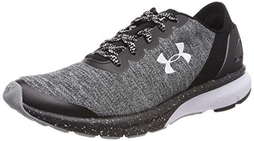 Under Armour UA W Charged Escape, Zapatillas de Running Mujer, Multicolor (Grey 001), 36.5 EU