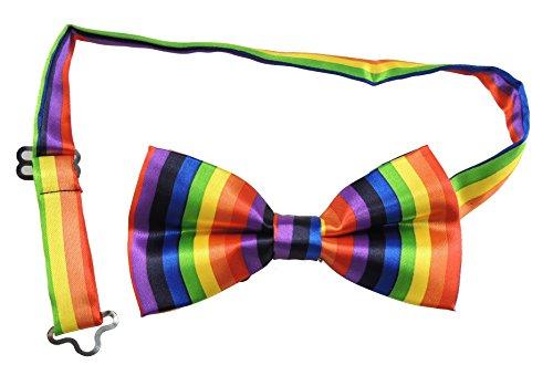 Men's Costume de luxe Unique Satin Motif nœud réglable contrôles & Tie- Disponible dans de nombreuses couleurs - - Taille unique
