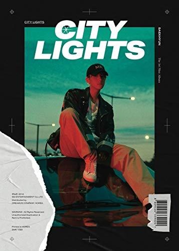 BAEKHYUN EXO [City Lights] 1st Mini Album Night Ver CD+1p Poster+1p Folding Poster/on+80p PhotoBook+16p Lyric Booklet+1p PhotoCard+Extra PhotoCard Set+Tracking K-POP Sealed