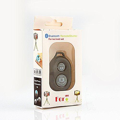 JICWNEW Obturador De La Cámara Remota Bluetooth Control De Temporizador Automático para iPhone Samsung