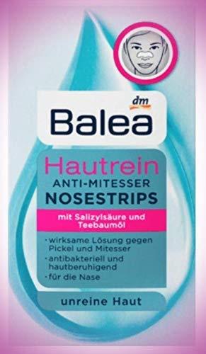 Hautrein Anti-Mitesser Nosestripes, für die Nase, Mit Salizylsäure und Teebaumöl 2er Pack (2 x 3 St)