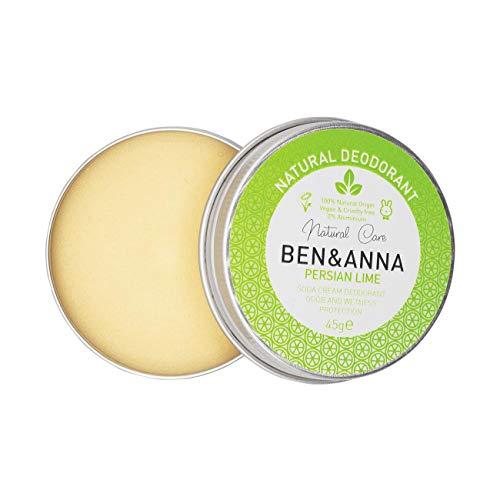 Desodorante Natural Ben Anna En Lata Persa Lima 45g