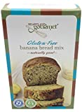 Heartland Gourmet Gluten Free Banana Bread Mix - Soft and Moist - Certified Gluten Free Ingredients - All Purpose - Safe for Celiac Diet