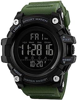 V2A Digital Men's & Boy's Watch (Black Dial Black Colored Strap)