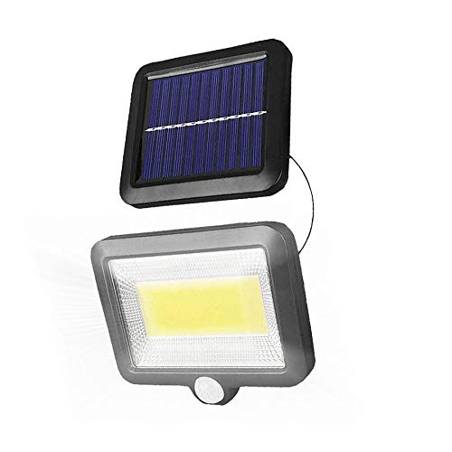BRAVE 5mコード付き 分離型 COB型 100LED ソーラーライト 太陽光 夜間自動点灯 IP65 防水 庭 駐車場 ガーデン 防犯 MV-BVWURIL
