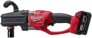 Milwaukee Electric Tool 2708-22 M18 FUEL HOLE HAWG Brushless Right Angle Drill Kit, 18 V, Lithium-Ion, 1/2