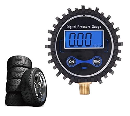 Digital Neumático Medidor de presión Coche Digital Neumático Medidor de presión Medidor de presión de neumático Herramienta de presión de neumáticos Medidor de presión de neumáticos y bomba Digital Ne