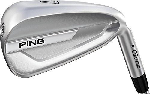 PING G700 Black Dot Irons – (Steel) – Standard Length (Right Hand, AWT 2.0 Steel, Regular Flex)