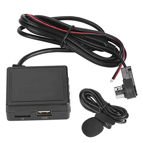 Adaptador AUX Bluetooth para coche, Adaptador AUX para coche USB 3.5mm Plug Receptor de música Cable apto para CD KS-U58 PD100 U57 U29 (19)