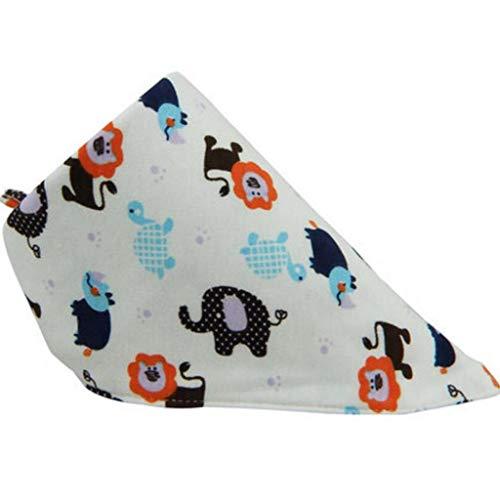 Sccarlettly Living House Baby Triangle Coton Double Casual Chic Bavoir Enfant Printemps Et Été (Couleur A Taille 1 Pcs) (Color : B, Size : 5 Pcs/Set)