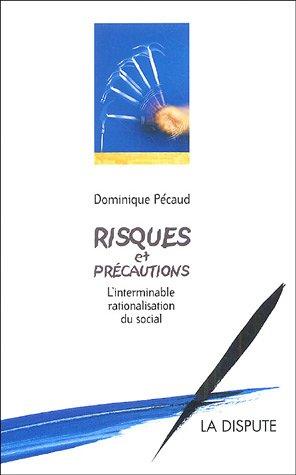 Risques et précautions : L'interminable rationalisation du social