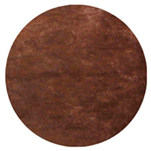 AEC - EM424/chocolat - Sachet de 50 Sets de Table Non Tissé Ronds 34 cm Chocolat