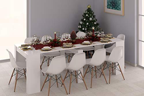 Esidra Tavolo da Pranzo allungabie consollo, 235 x 78 x 90 cm