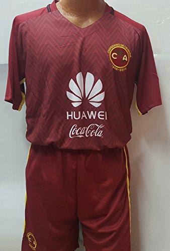 Liga MX New America Centenario Burgundy Replica Jersey & Shorts Kit Adult Small