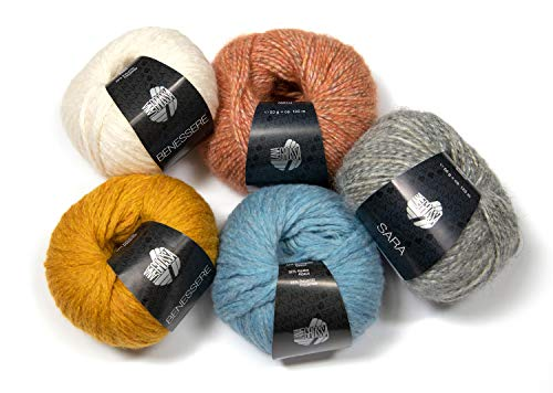 Lana creativo lana Grossa-elastico-FB 139 narzissengelb 50 G
