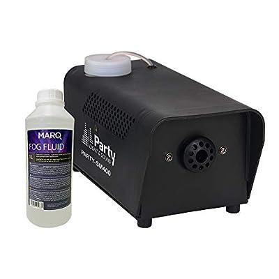 Party 400w Smoke Machine Fog Effect inc Wired Remote Disco Party Halloween Fluid