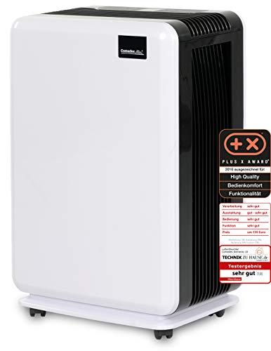 Comedes Demecto 10 - Geräuscharmer Luftentfeuchter für kleinere Wohnräume, Schlafzimmer oder Kinderzimmer bis zu 40m²