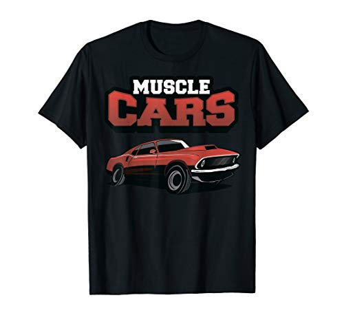 American Muscle Car Speed Lover Cars Fan Racing Driver Rat T-Shirt