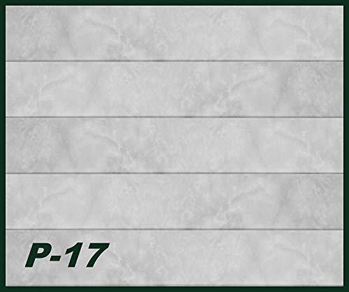 30 qm Deckenpaneele   hellbraune Marmoroptik   extrudiertes Polystyrol   Inneneinrichtung   Dekor Paneele   XPS   Hexim   100 x 16,7 cm   P-17