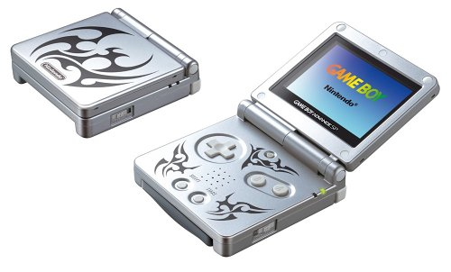 Game Boy Advance SP Konsole Tribal Edition