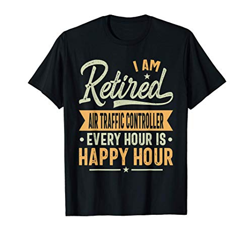 Retired Air Traffic Controller Gift - Air Traffic Controller T-Shirt