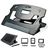 MAX SMART Tablet Drawing Stand, Laptop Stand Riser, Book Reading Stand, Foldable, Portable and...