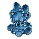 Cuticuter Daisy Bebe Disney Cortador de Galletas, Azul, 8x7x1.5 cm