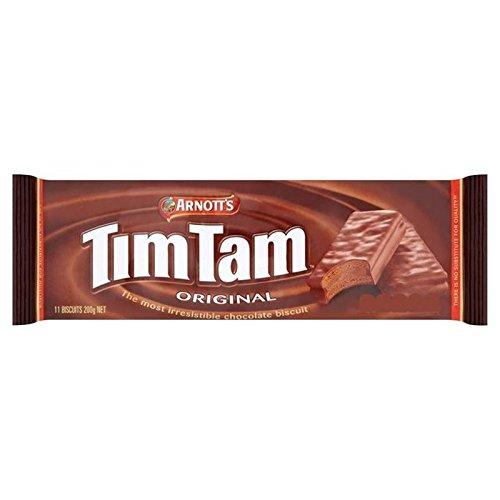 Tim Tam Arnott De 200G De Biscuits d'origine - Paquet de 6