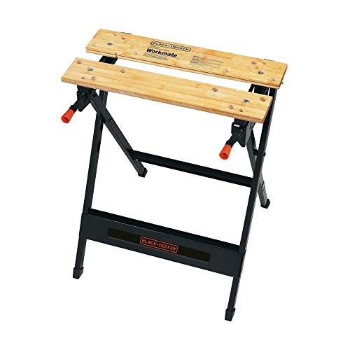 BLACK+DECKER Workmate Portable Workbench, 350-Pound Capacity (WM125)