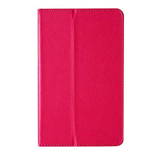 Für Tablet-Hülle Für Lenovo A8-50 A5500 Schutzhülle Folio PU Ledertasche Abdeckung Für Lenovo IdeaTab A8-50 A5500 8-Zoll-Tablet-Rosenrot