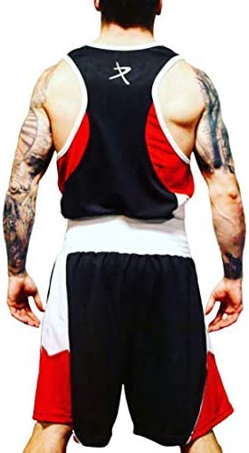 PRO BOX Boxing Shorts Gym new Black matching vest in store