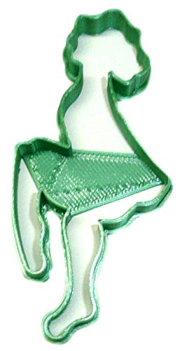 IRISH DANCER STEP DANCE IRELAND SOLO GROUP FESTIVAL SOCIAL COMPETITION PERFORMANCE SPECIAL OCCASION COOKIE CUTTER BAKING TOOL 3D PRINTED MADE IN USA PR2509