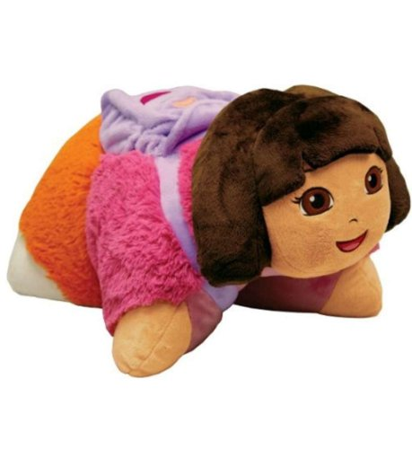 Pillow Pets, Pee Wees, Nickelodeon Dora the Explorer, 11 Inches