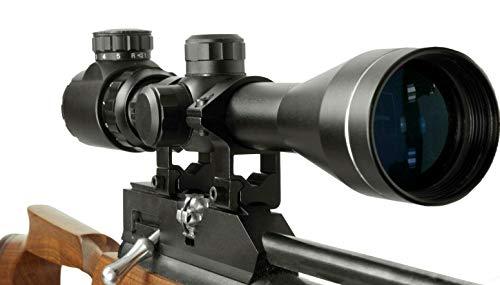 In Your Sights 3-9x40 Rifle Scope con Iluminado Retículo y Monturas/Pistola de Aire Mira - 3-9X40 with 9.5-11mm Soporte