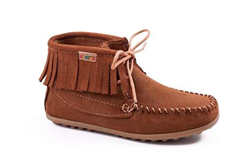 dechics - Mohicana en Serraje. Zapatos para niñas.