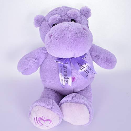 Doinbtoy Lila Nilpferd Puppe Plüsch Spielzeug Puppe Puppe Kissen Kinder Geschenk 60cm lila