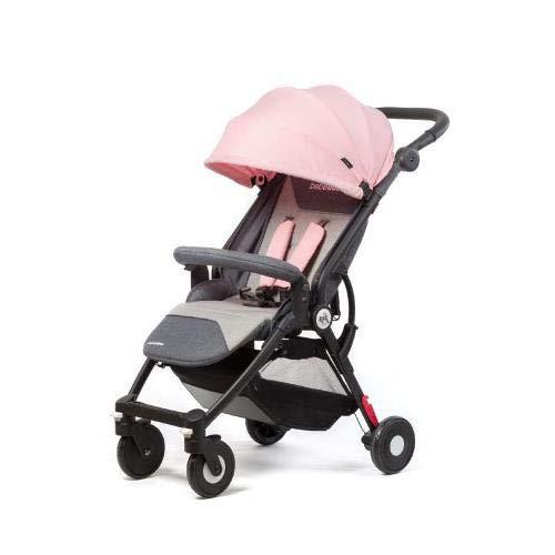 Bebé Due NIK PINK - Silla de paseo plegable y multifuncional