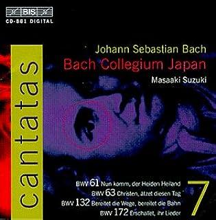 Bach: Cantatas Vol 7 (BWV 61, 63, 132, 172) /Bach Collegium Japan * Suzuki