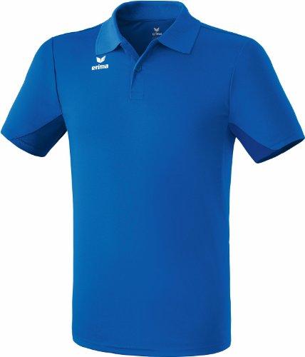 erima Poloshirt Funktions - Polo para niña, Color Azul, Talla 8 años (128 cm)