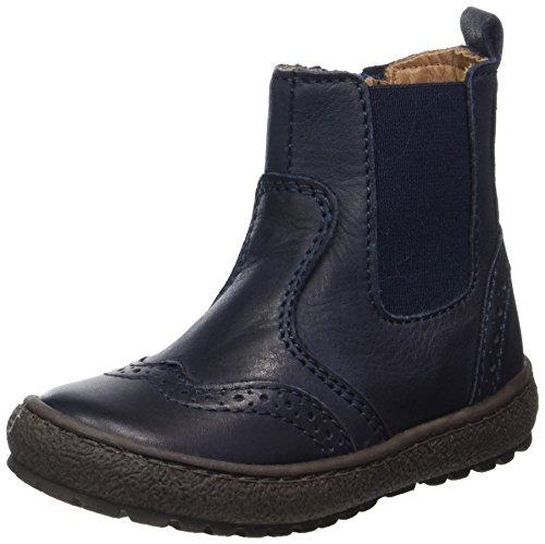 Bisgaard Unisex-Kinder Stiefelette Chelsea Boots, Blau (600 Blue), 29 EU