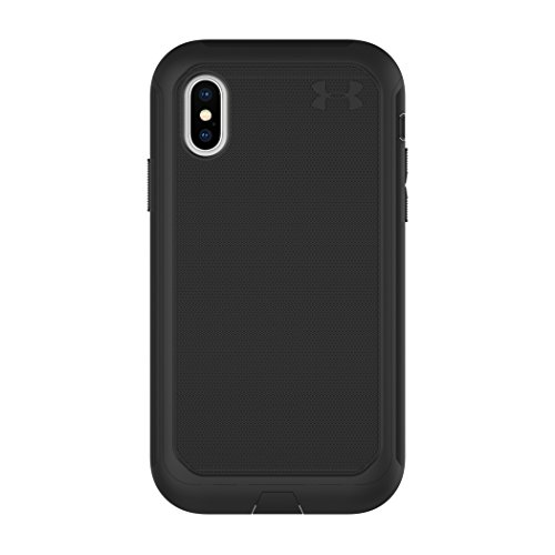 Under Armour Phone Case | for Apple iPhone X and 2018 iPhone Xs | Under Armour UA Protect Ultimate Case with Rugged Design and Drop Protection - Black/Black