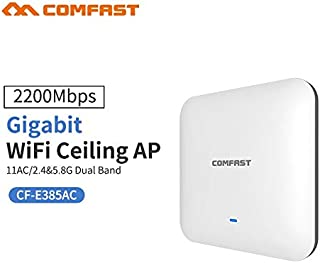 COMFAST CF-E385AC 2200M Gigabit Dual band Router WAVE2 Ceiling Wireless WiFi AP Access Point Repeater Open ddwrt Wi fi Acc...