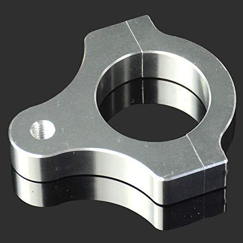 Motorrad Lenkungsdämpfer Stabilisatorhalter CNC Universal für Gabelrohr M8