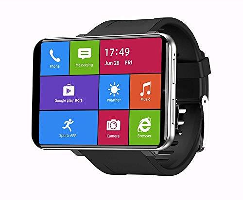 Reloj Inteligente 2.86 Pulgadas HD Pantalla Táctil Completa 3+32GB Memoria 8MP Cámaras Frontales 2880Mah Batería Multi Sport Modo Pulsera Plata