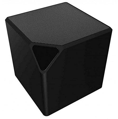 Bigben Interactive BT14 Mono 9W Cubo Negro - Altavoces portátiles (Inalámbrico, Bluetooth, Mono, Cubo, Negro, Universal)