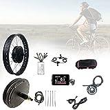 XYEJL Kit Conversión Bicicleta Eléctrica, 48v 1500w 20