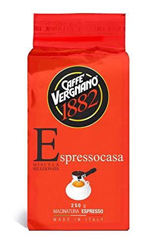 4 kg Caffè Espresso casa Vergnano Macinato conf. 250 g Coffee Espresso machine Ground