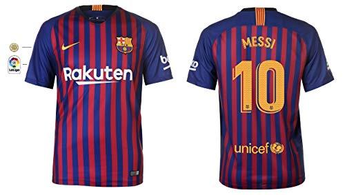 F.C. Barcelona Trikot Herren 2018-2019 Home La Liga - Messi 10 (M)